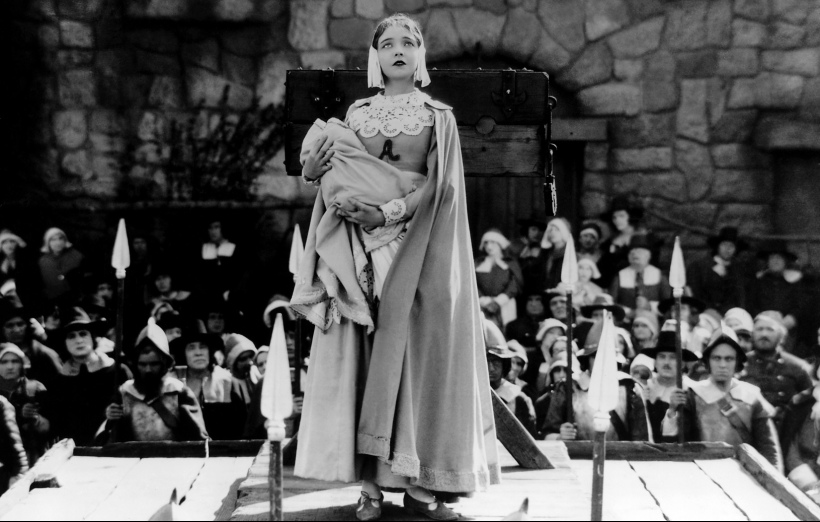 Lillian Gish in Victor Sjöström's The Scarlet Letter